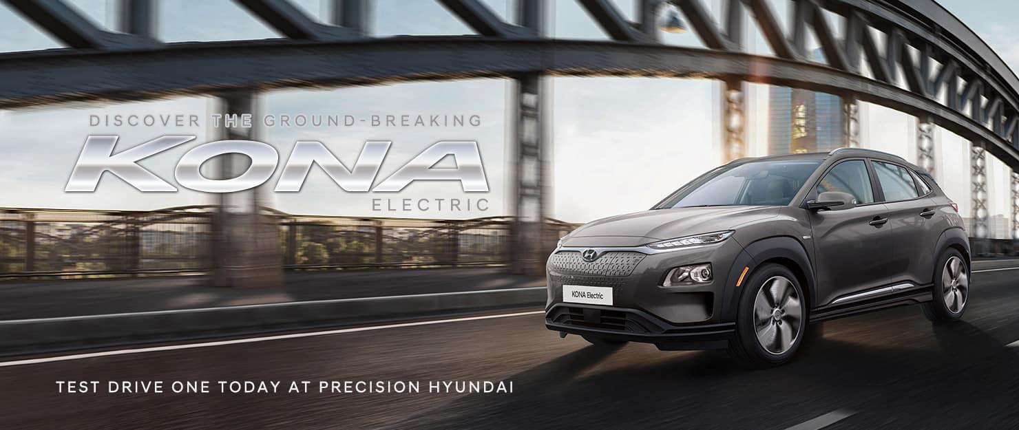 The stunning 2021 Hyundai Kona EV