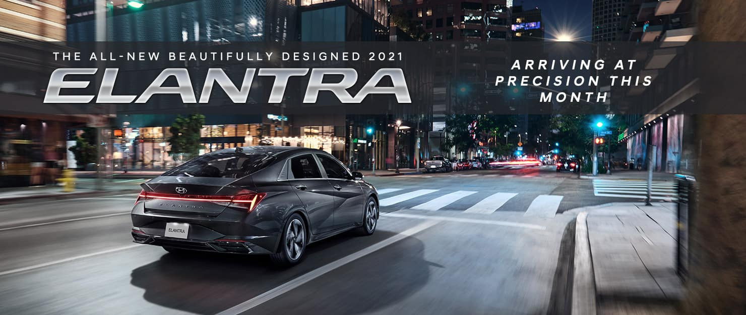 The All-New 2021 Elantra arrives at Precision this month