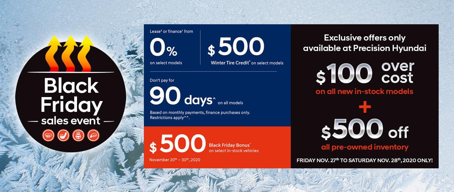 Precision Hyundai Black Friday Sales Event