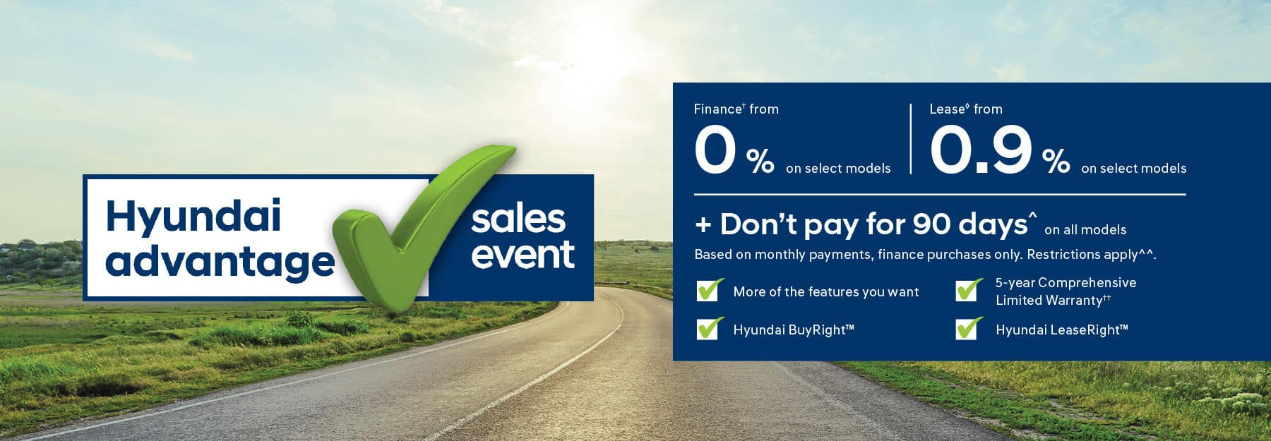 Hyundai Advantage Sale Event on now