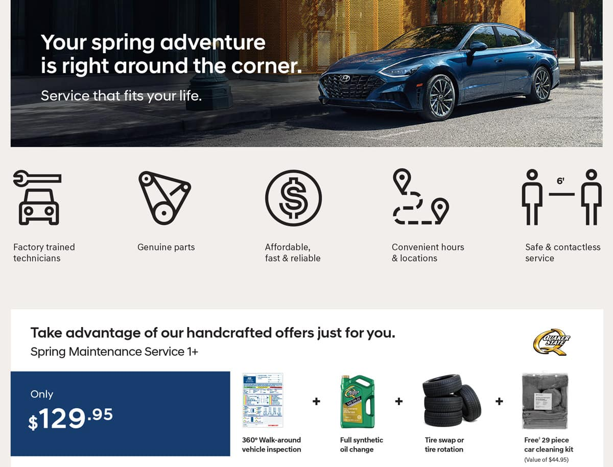 Precision Hyundai Spring Service