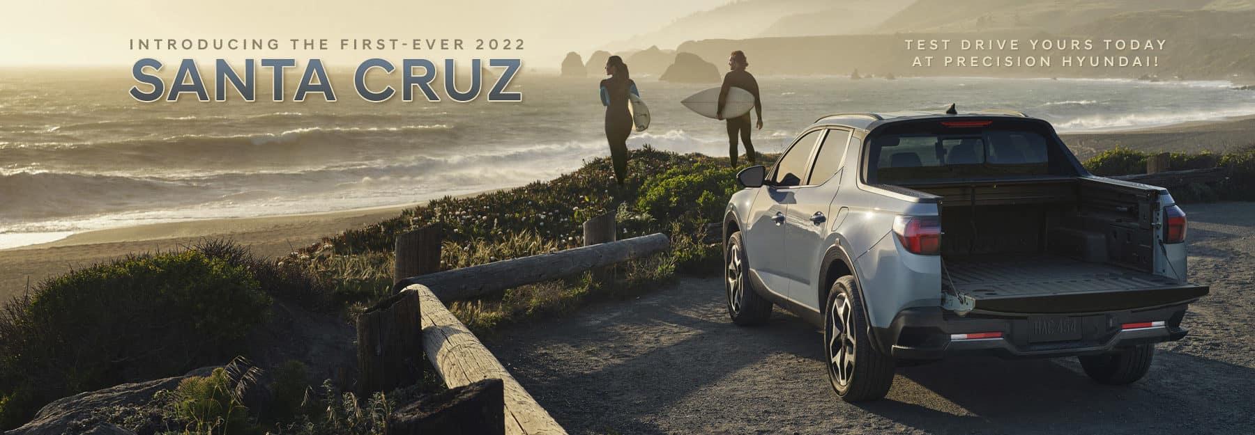 The First-Ever Hyundai Santa Cruz now available at Precision Hyundai