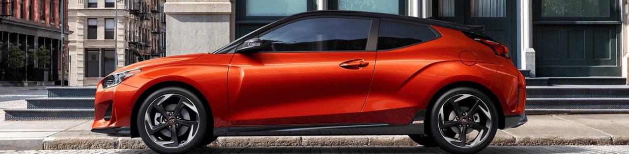 Orange Hyundai Veloster