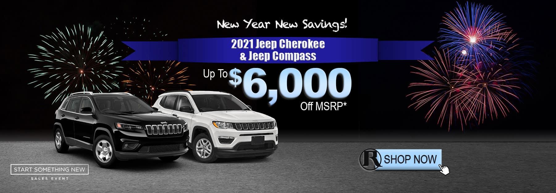 2021 Jeep Cherokee &Compass