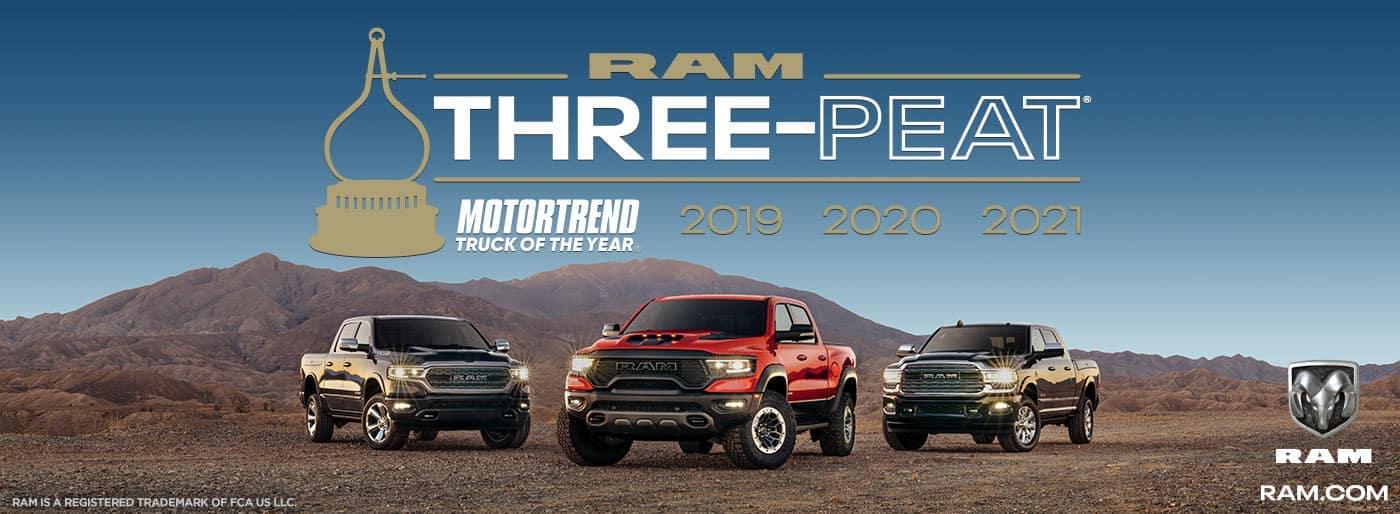 ram three-peat