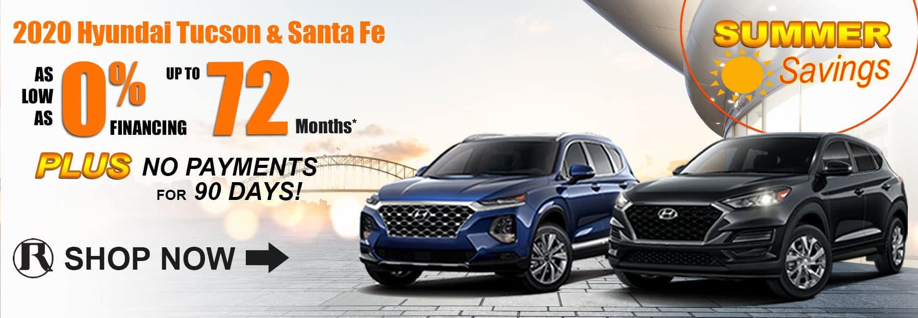 2020 Hyundai Tucson & Santa Fe