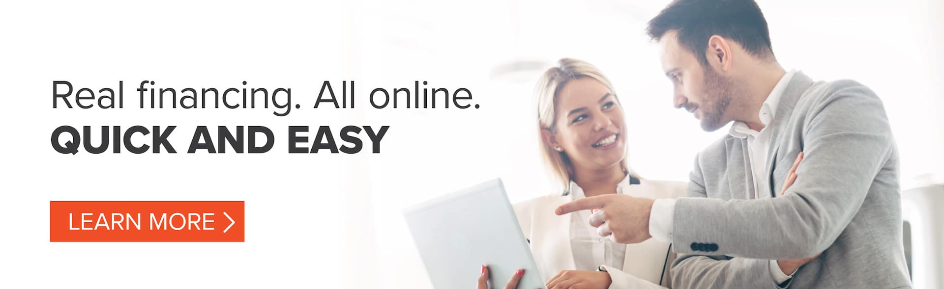 real finance. all online. quick and easy