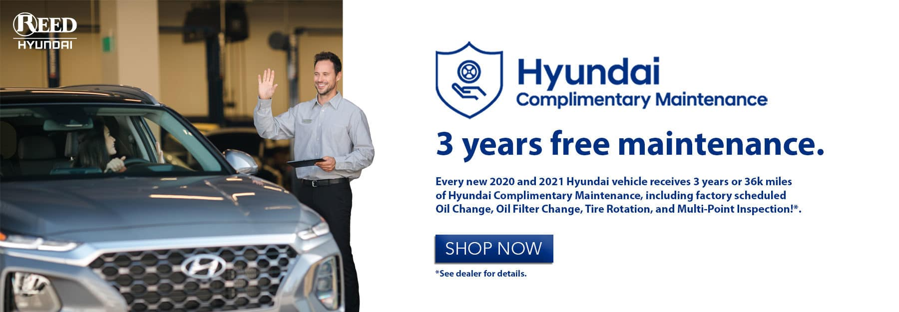 Reed Hyundai Kansas City Complimentary Maintenance