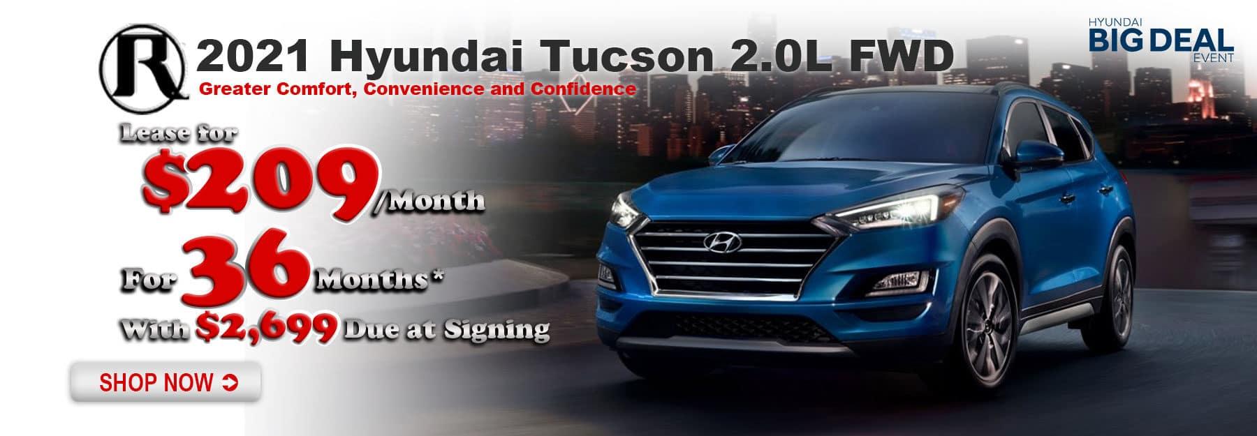 Reed Hyundai Tucson