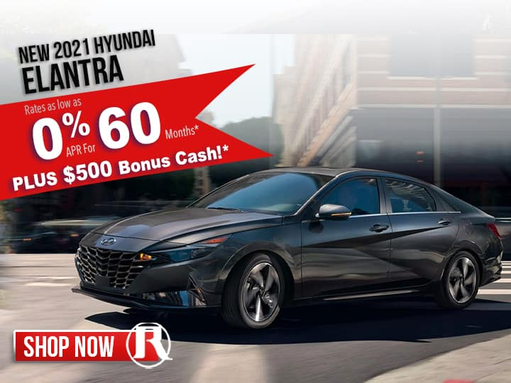 Reed Hyundai SPECIAL OFFERS
