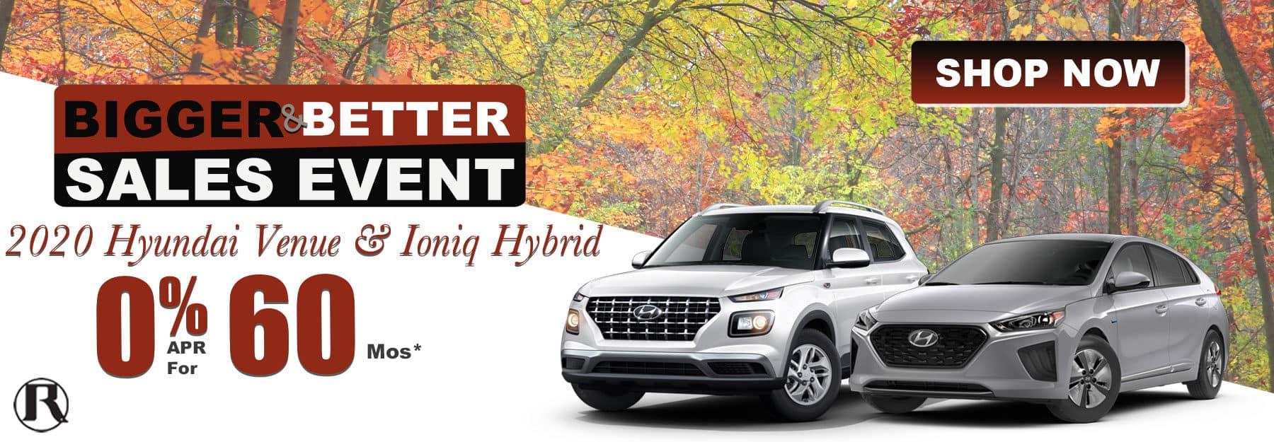 2020 Hyundai Venue & Ioniq Hybrid
