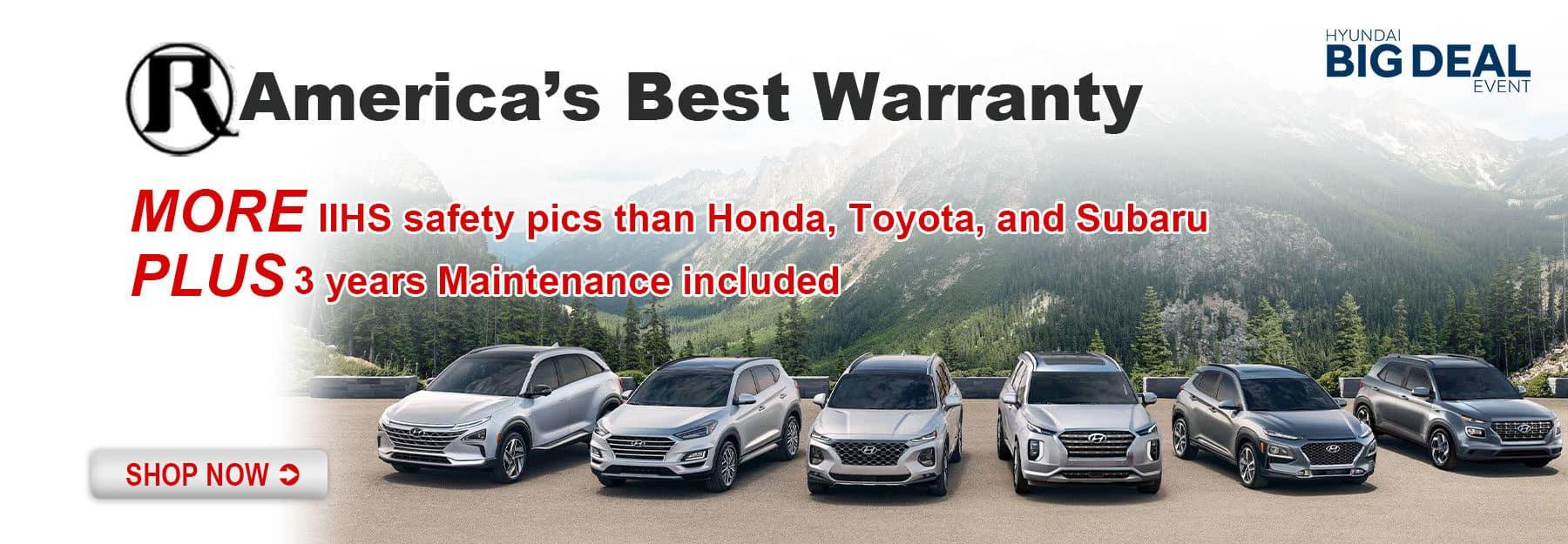 Reed Hyundai America's Best Warranty
