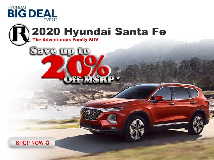 Reed Hyundai of St. Joseph SPECIAL OFFERS