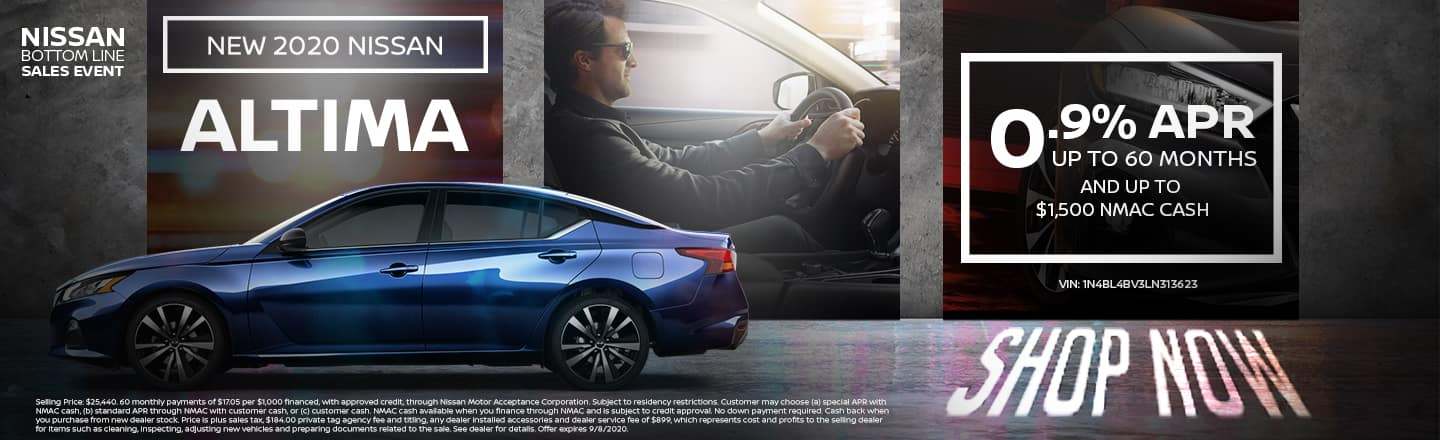 PR For Up To 60 Months AND Up To $1,500 NMAC Cash | Nissan Bottom Line Sales Event