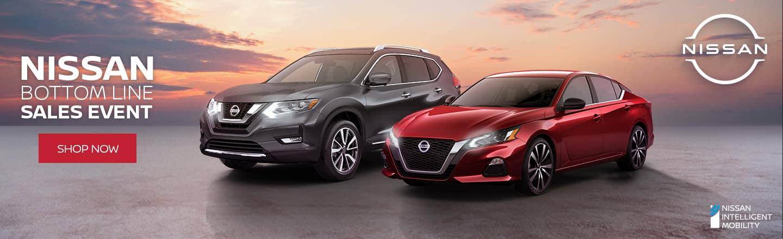 Nissan Bottom Line Sales Event