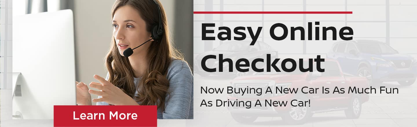 Easy Online Checkout | Now Buying A New Car Is As Much Fun As Driving A New Car!