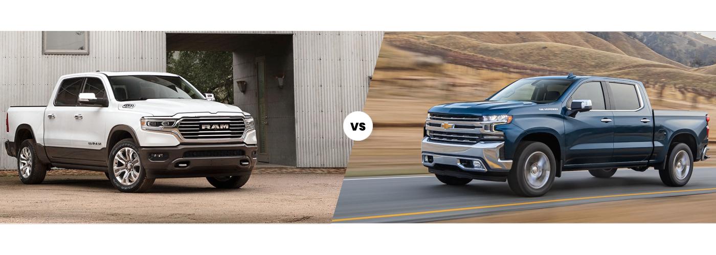2020 Ram 1500 vs 2020 Chevy Silverado