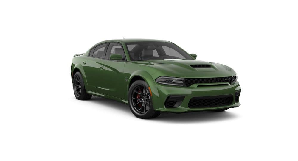2021 Dodge Charger F8 Green