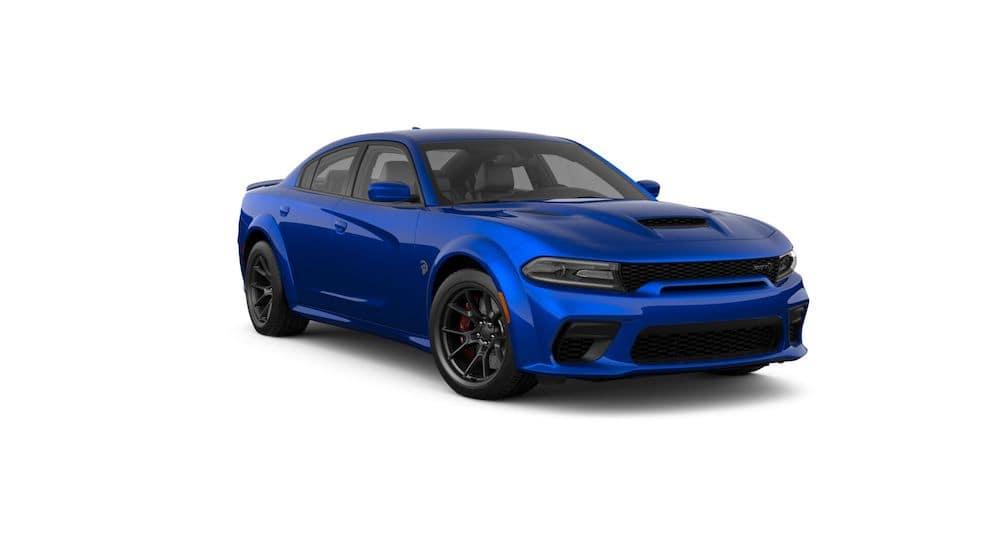2021 Dodge Charger Indigo Blue