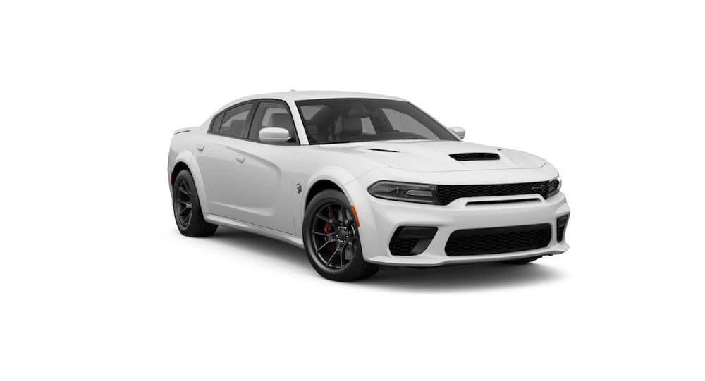 2021 Dodge Charger White Knuckle