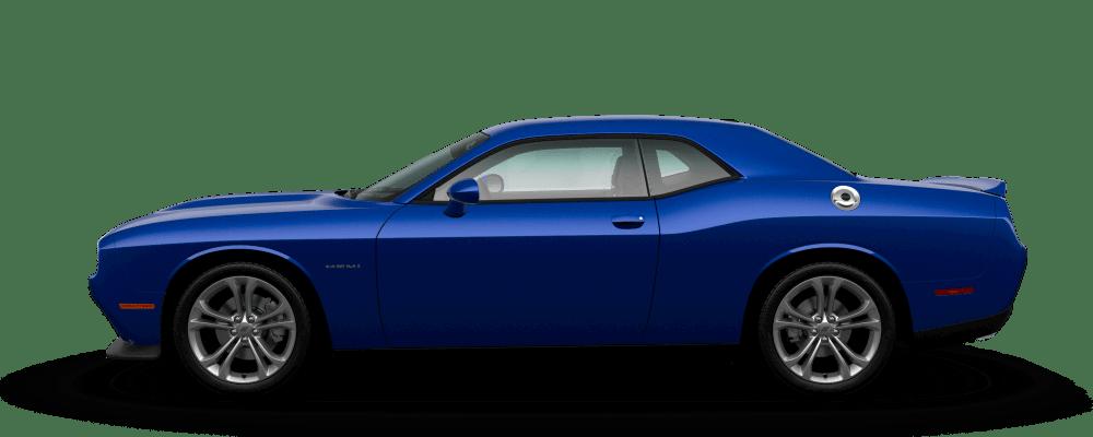 2021 Dodge Challenger Indigo Blue