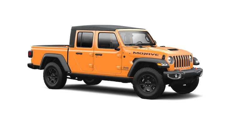 2021 Jeep Gladiator Nacho paint color