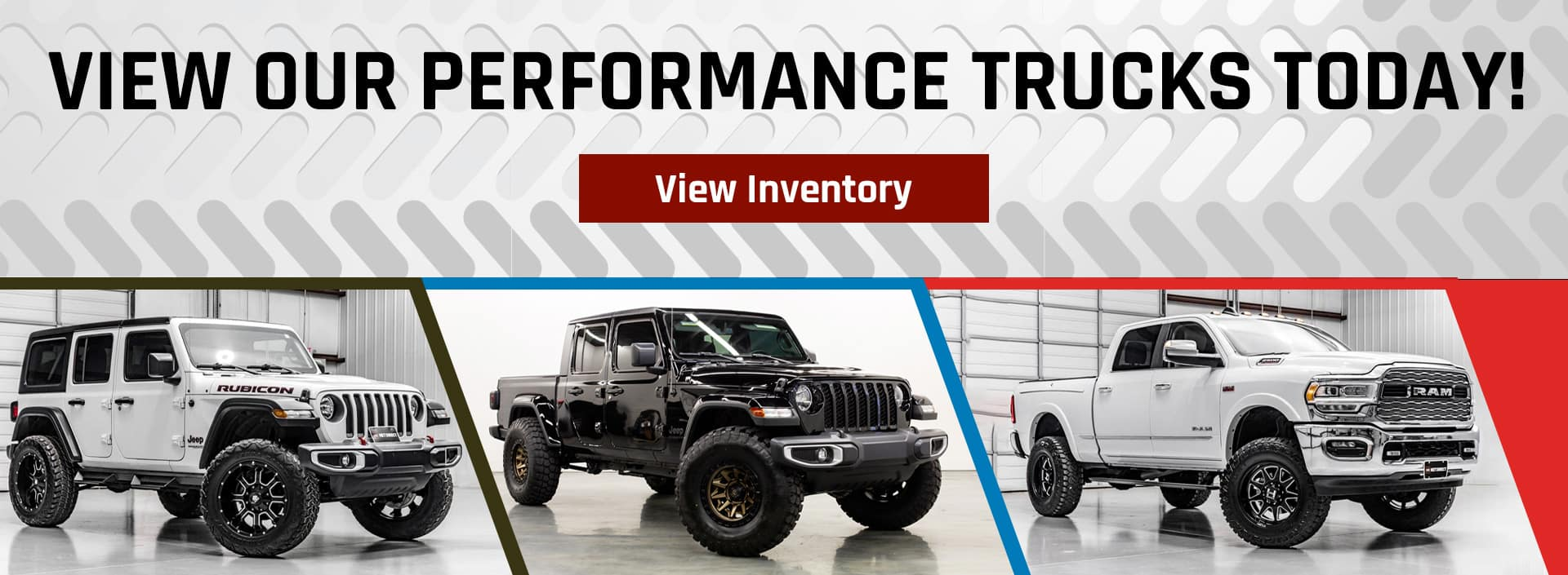 View Our Performance Trucks Today!