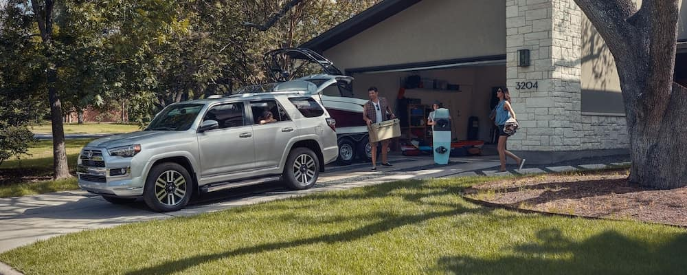 2020 4Runner parked in a driveway