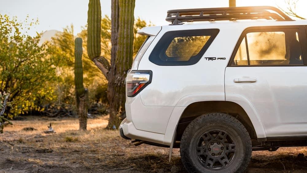 Rear of 2020 Toyota 4Runner