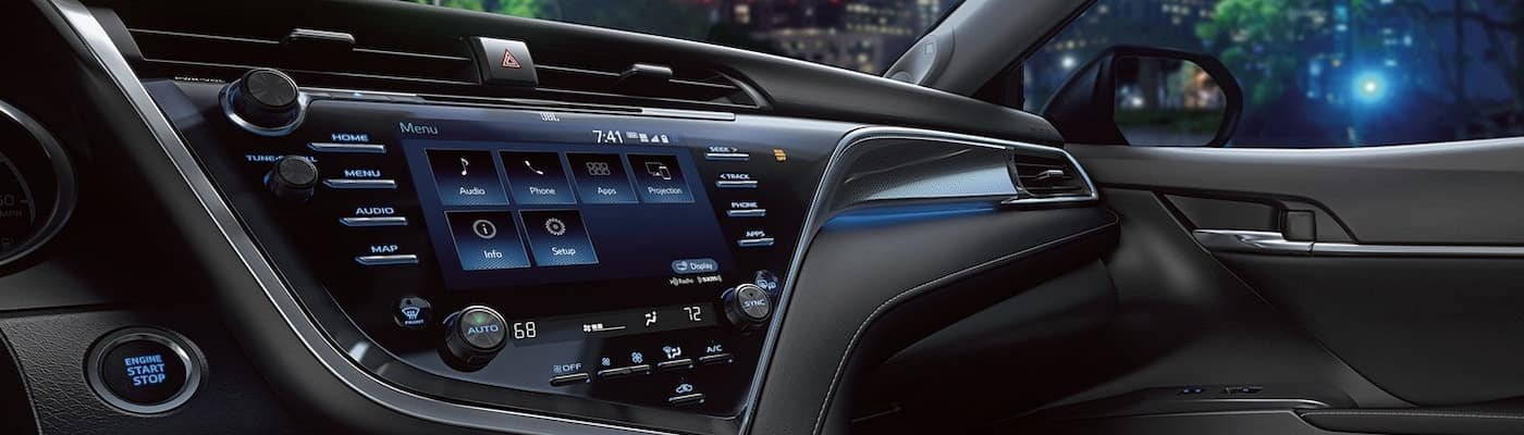 2020 Camry infotainment system