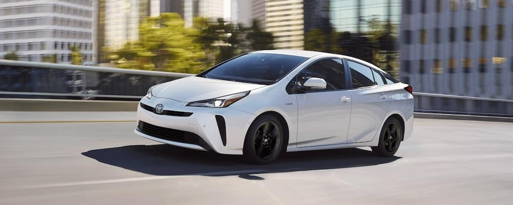 2020 Toyota Prius on the highway