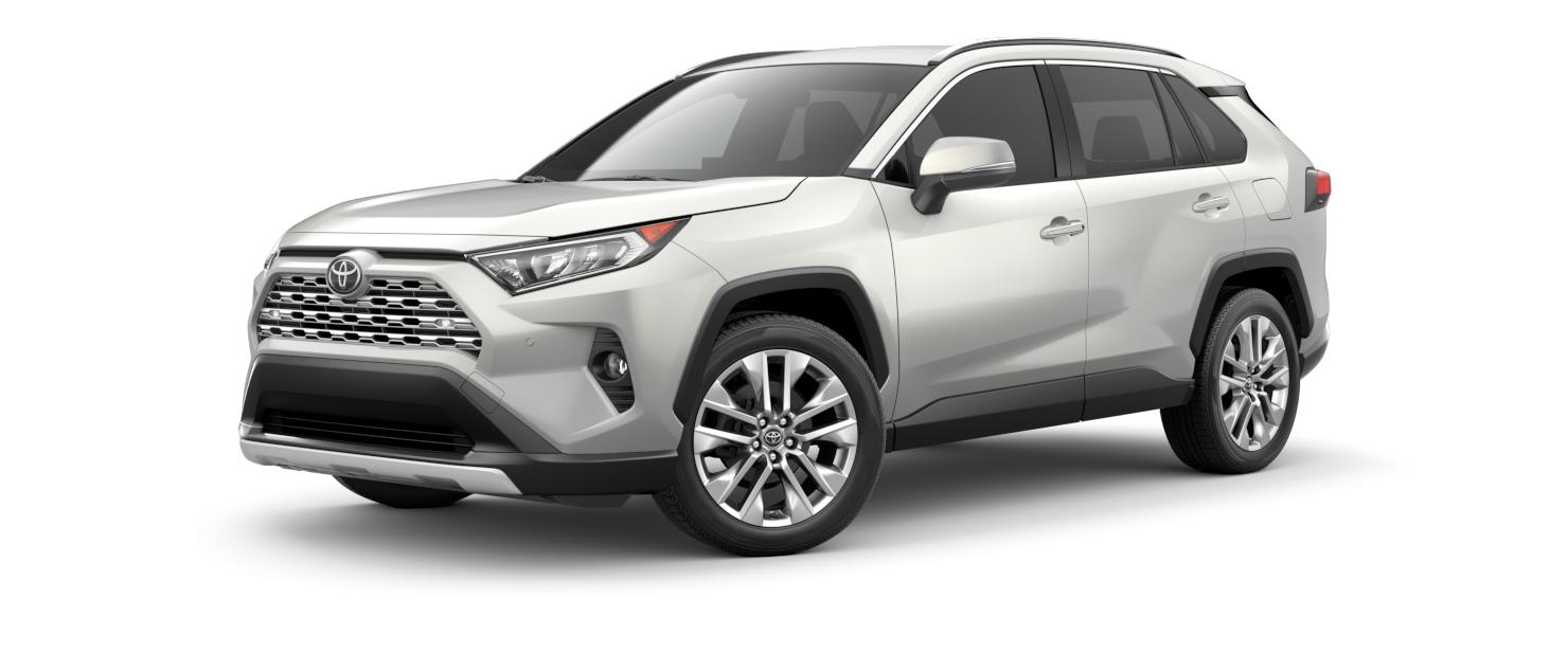 2021 Toyota RAV4 in Blizzard Pearl