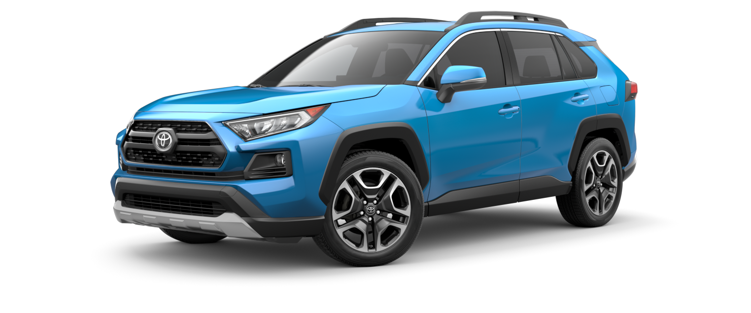 2021 Toyota RAV4 in Blue Flame