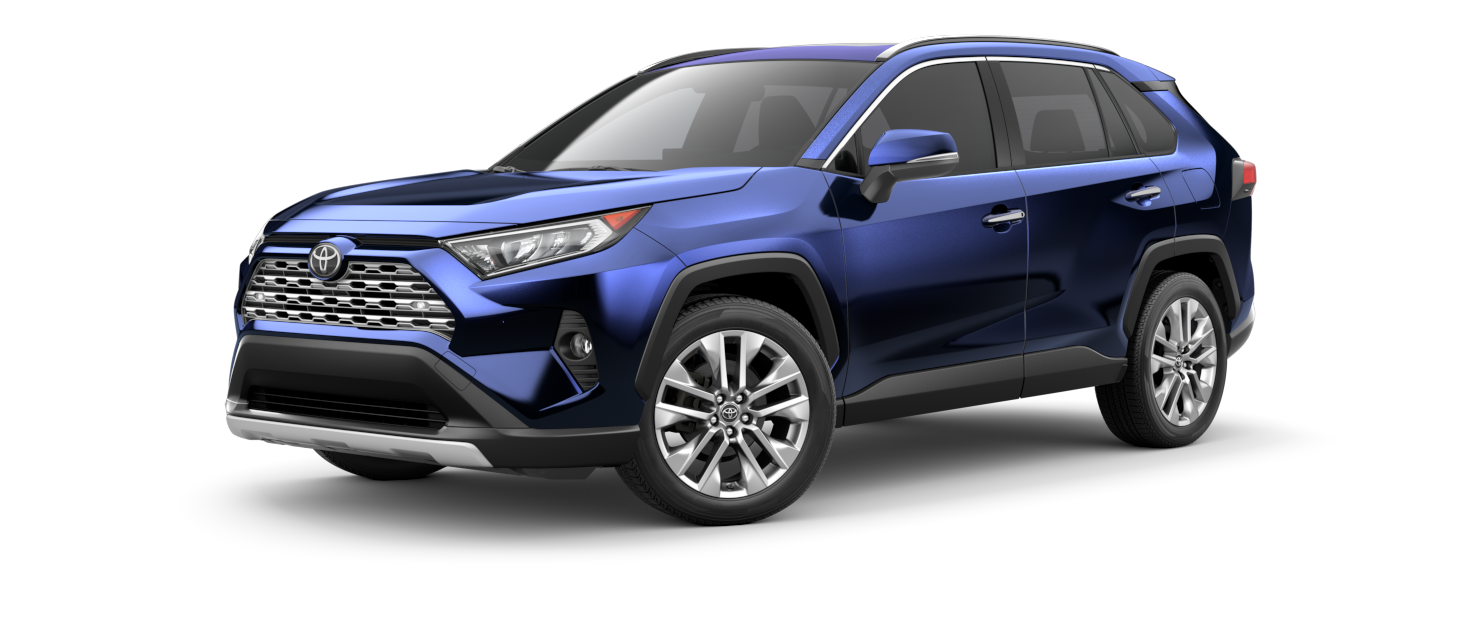 2021 Toyota RAV4 in Blueprint