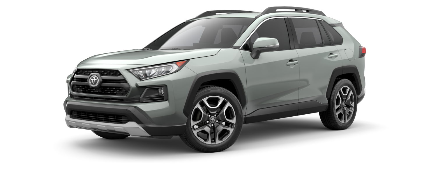 2021 Toyota RAV4 in Lunar Rock