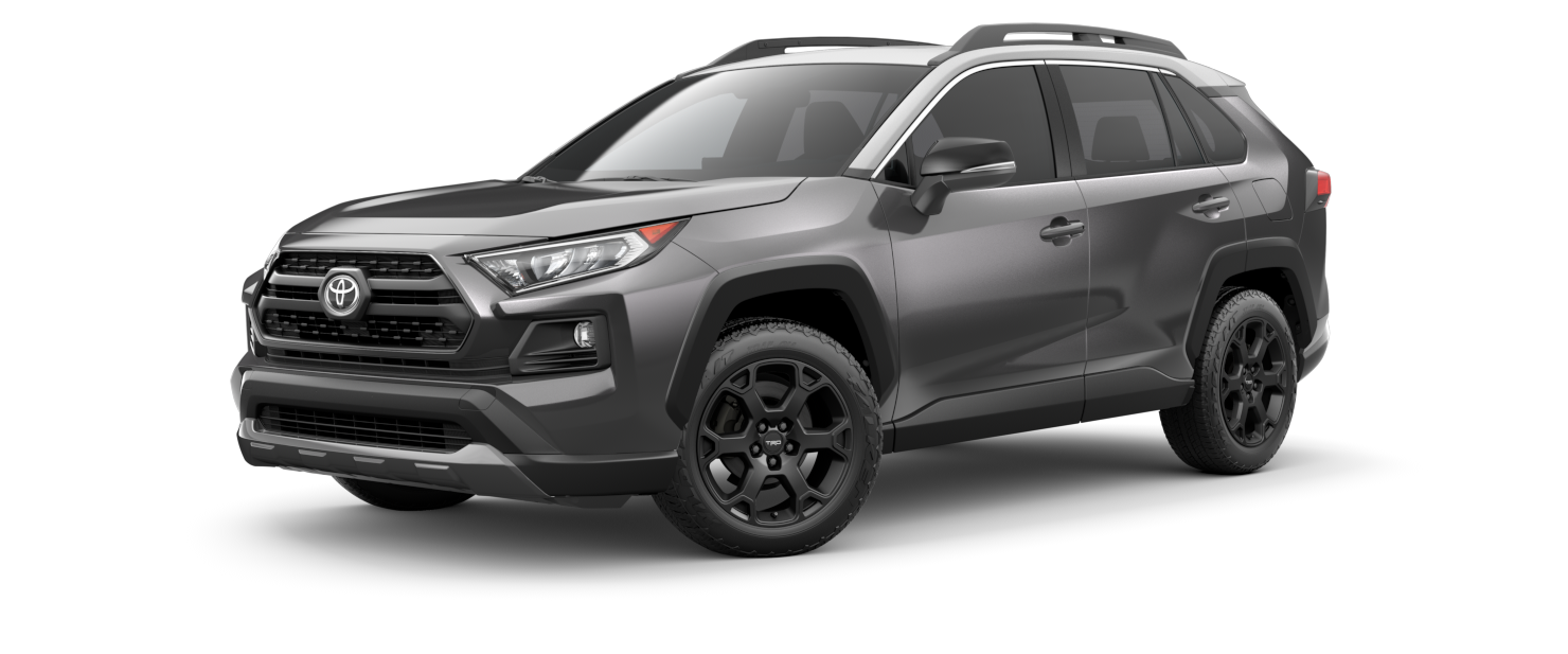 2021 Toyota RAV4 in Magnetic Gray Metallic With Ice Edge Roof