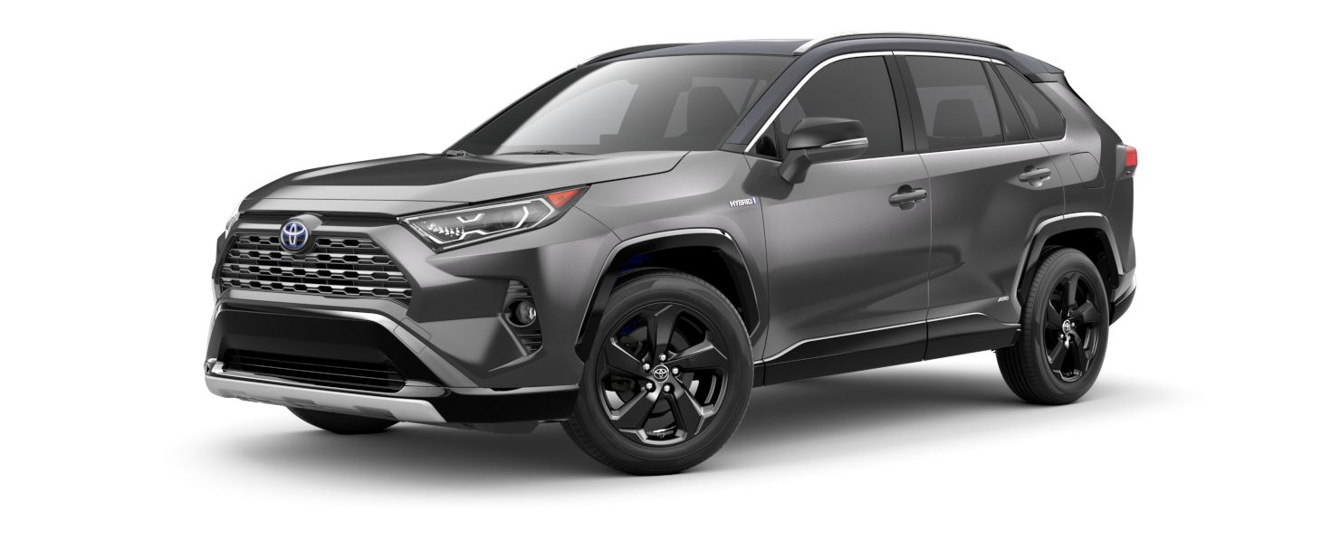 2021 Toyota RAV4 in Magnetic Gray Metallic with Midnight Black Metallic Roof