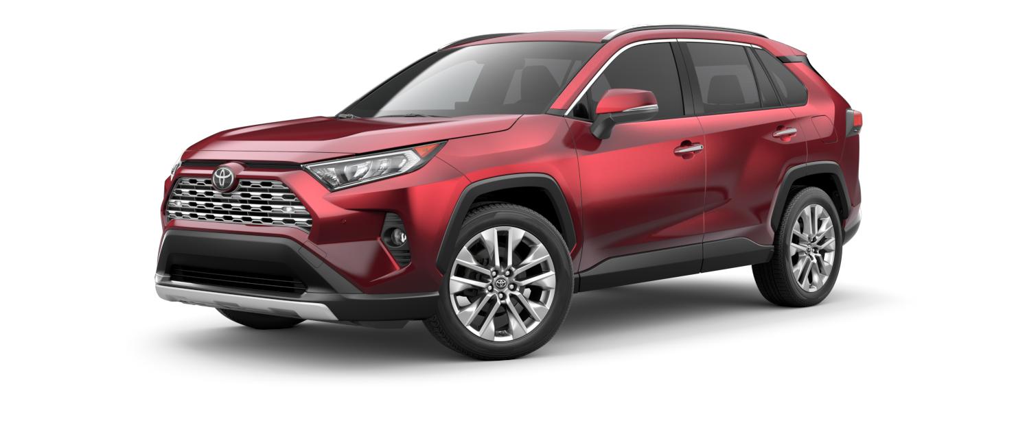 2021 Toyota RAV4 in Ruby Flare Pearl