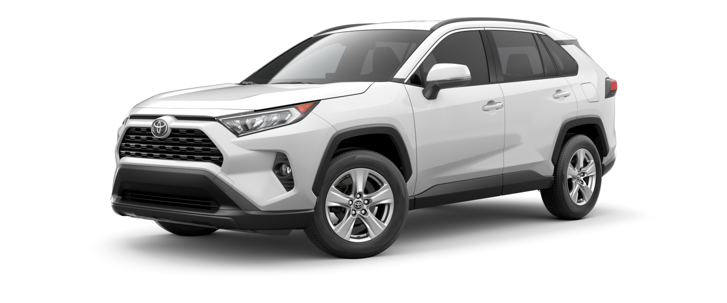 2021 Toyota RAV4 in Super White