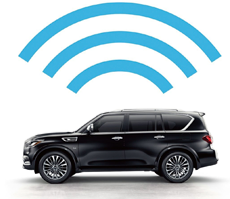 INFINITI INTOUCH WITH WI-FI HOTSPOT