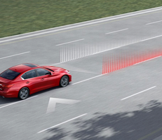 LANE DEPARTURE PREVENTION AND ACTIVE LANE CONTROL MAINTAIN YOUR LANE