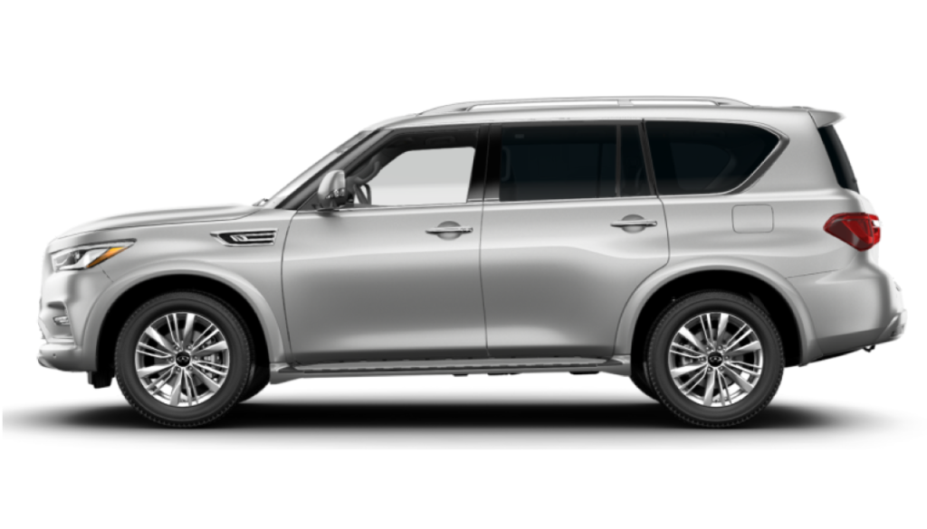 2021 QX80 LUXE AWD WITH APPLE CARPLAY AND ANDROID AUTO