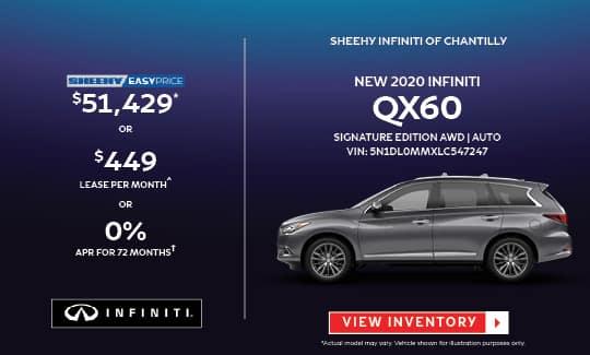 2020 QX60 SIGNATURE EDITION AWD