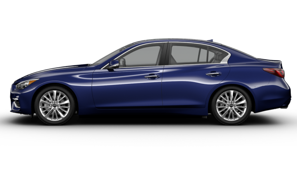 2021 Q50 3.0T PURE WITH APPLE CARPLAY AND ANDROID AUTO PACKAGE