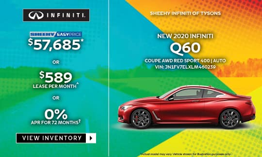 2020 Q60 COUPE AWD RED SPORT 400 AUTO