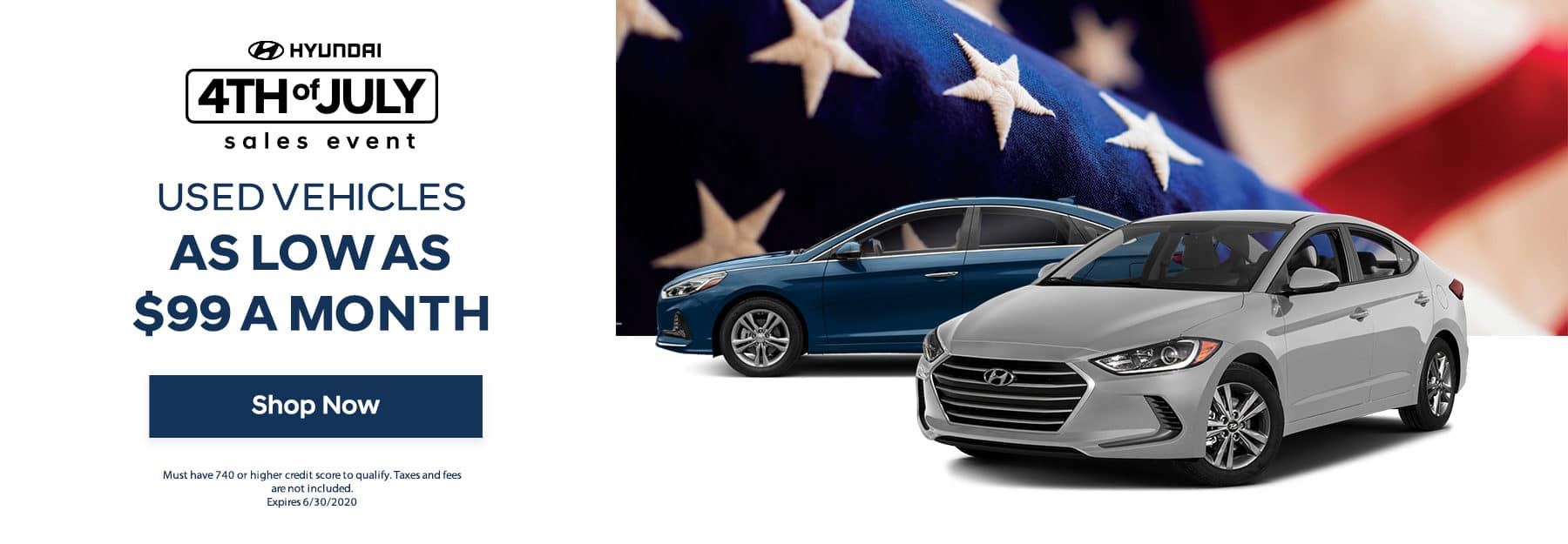 Used Vehicle 4th of July Sale