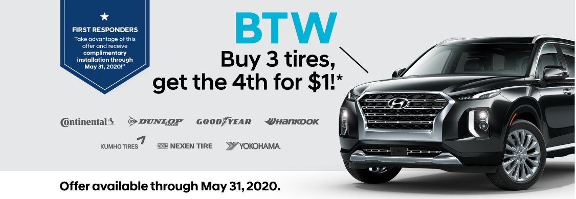 MAY TIRE PROMO