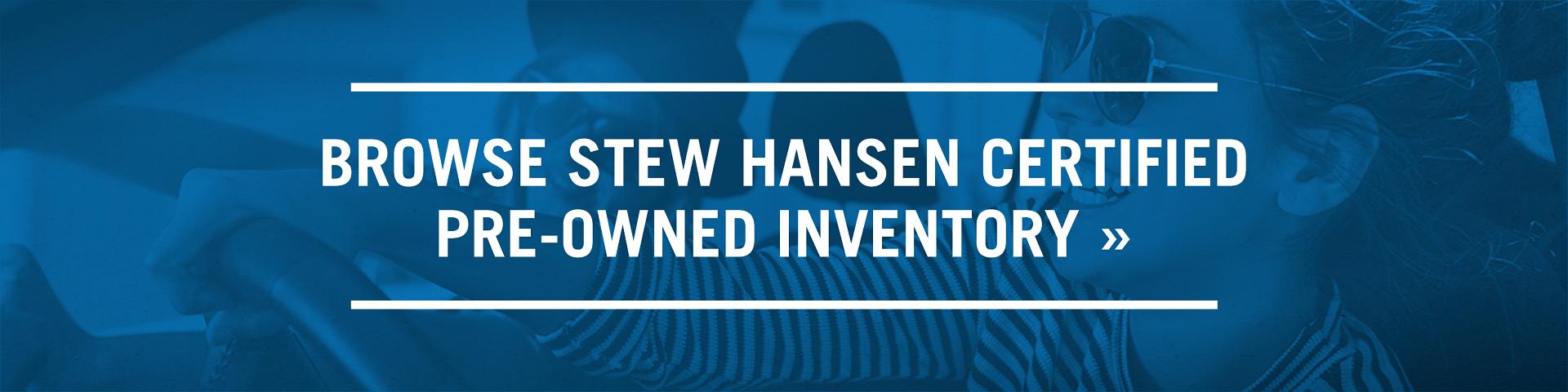 Stew Hansen CPO Program