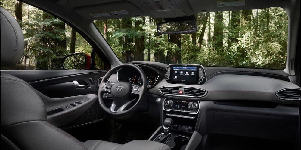 2020 Hyundai Santa Fe Front Interior