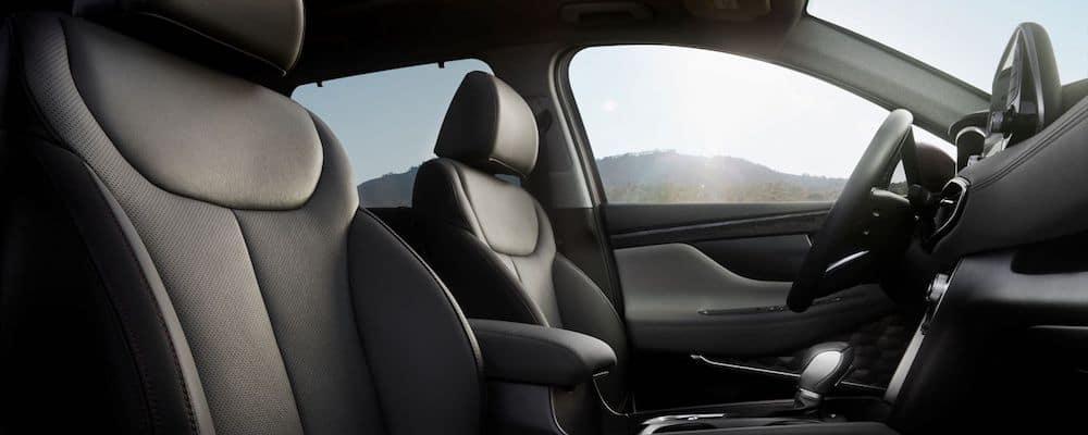 2020 Hyundai Santa Fe Front Seats